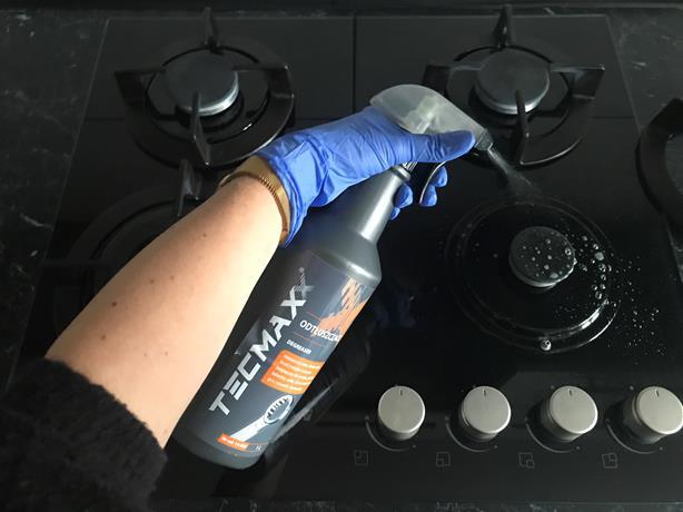 Odtłuszczacz tecmaxx płyta gazowa